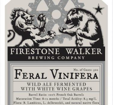 Firestone Walker: Feral Vinifera Batch #4 (2017) – Wild Ale with Wine Grapes / 火石行者:野性葡萄